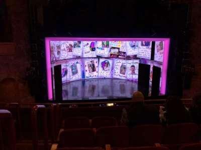 August Wilson Theatre section MEZZ Center