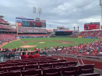 Great American Ball Park section 126