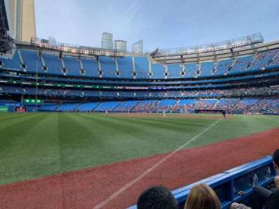 Rogers Centre section 130DR