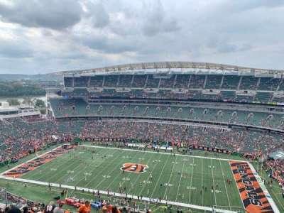 Paul Brown Stadium section 338