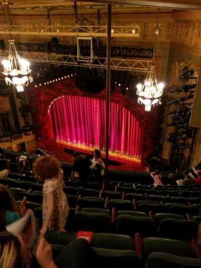 Shubert Theatre, section: Balcony Right, row: J, seat: 20