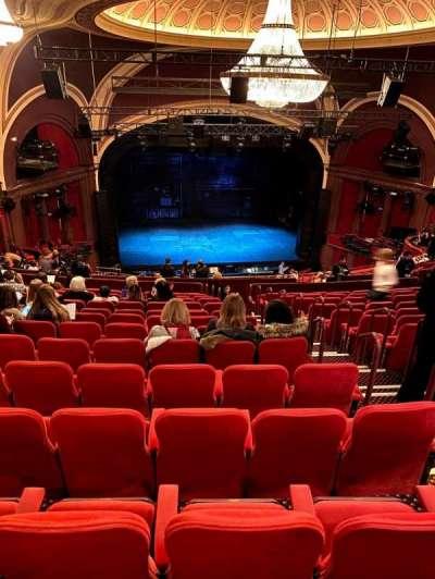 Broadway Theatre - 53rd Street section Rear Mezzanine LC