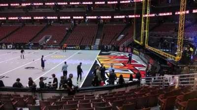 Honda Center, section: 219, row: L, seat: 8
