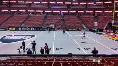 Honda Center, section: 221, row: L, seat: 8