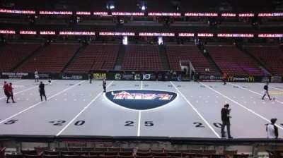 Honda Center, section: 222, row: L, seat: 8