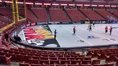 Honda Center, section: 225, row: G, seat: 5