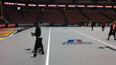 Honda Center, section: 224, row: A, seat: 8