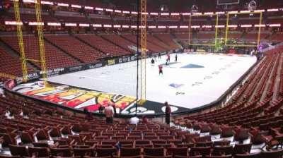 Honda Center, section: 227, row: S, seat: 8