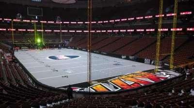 Honda Center, section: 203, row: S, seat: 8