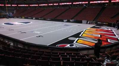 Honda Center, section: 204, row: J, seat: 8