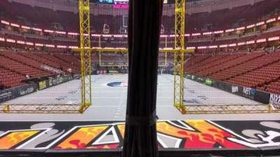 Honda Center, section: 201, row: J, seat: 8