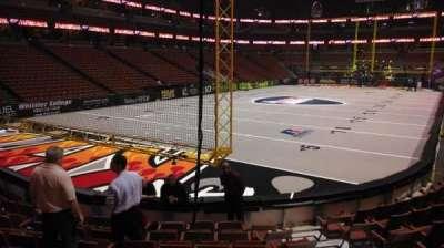 Honda Center, section: 227, row: J, seat: 8