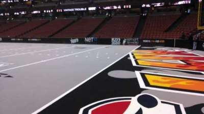 Honda Center, section: 204, row: A, seat: 8