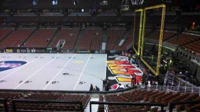 Honda Center, section: 318, row: C, seat: 8