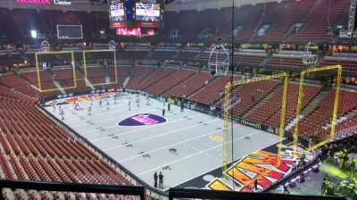 Honda Center, section: 427, row: B, seat: 8