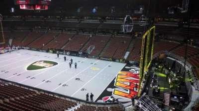 Honda Center, section: 429, row: B, seat: 8