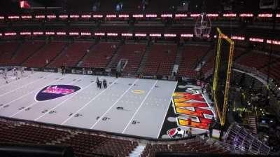 Honda Center, section: 430, row: B, seat: 8