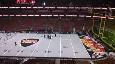 Honda Center, section: 432, row: B, seat: 8