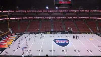 Honda Center, section: 434, row: B, seat: 8