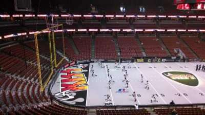 Honda Center, section: 436, row: B, seat: 8