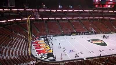 Honda Center, section: 437, row: B, seat: 8
