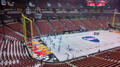 Honda Center, section: 438, row: B, seat: 8