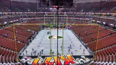 Honda Center, section: 443, row: B, seat: 8