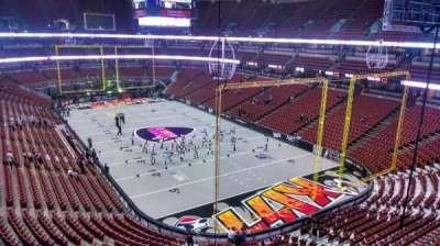 Honda Center, section: 402, row: B, seat: 8