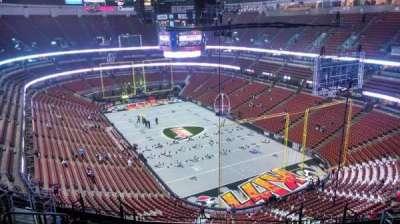 Honda Center, section: 404, row: N, seat: 8