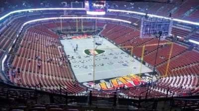 Honda Center, section: 403, row: N, seat: 8