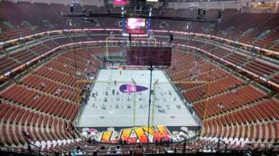 Honda Center, section: 401, row: N, seat: 8
