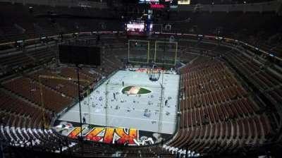 Honda Center, section: 443, row: N, seat: 8