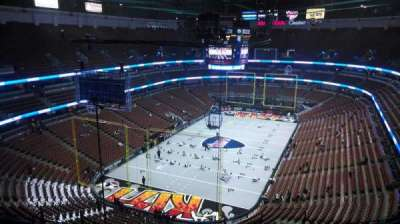 Honda Center, section: 442, row: N, seat: 8