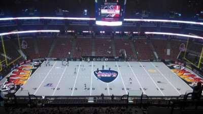 Honda Center, section: 434, row: M, seat: 8