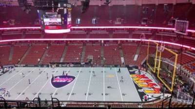 Honda Center, section: 432, row: M, seat: 8