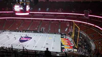 Honda Center, section: 431, row: M, seat: 8