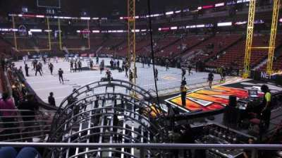 Honda Center, section: 217, row: P, seat: 8