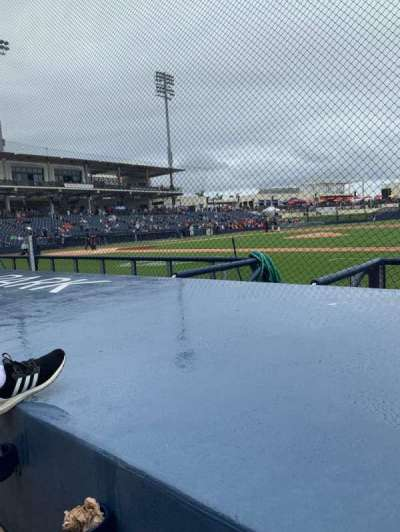 FITTEAM Ballpark of the Palm Beaches, section: 115, row: F, seat: 4