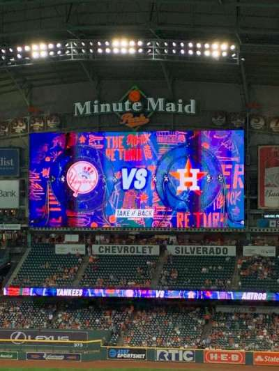 Minute Maid Park section 313