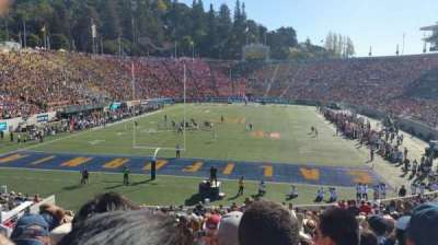 California Memorial Stadium, section: B, row: 36, seat: 16