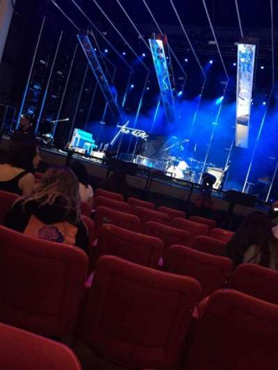 PNC Bank Arts Center, section: 102, row: G, seat: 126