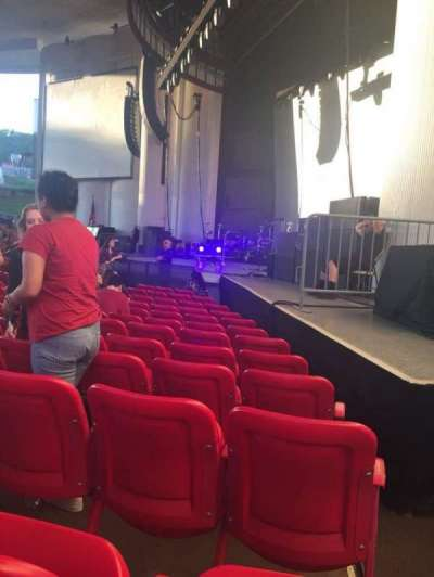 PNC Bank Arts Center, section: 101, row: M, seat: 36