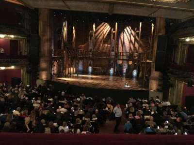PrivateBank Theatre, section: Dress Circle R, row: A, seat: 226