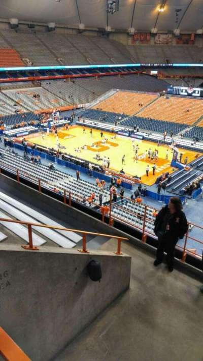 Carrier Dome section 307