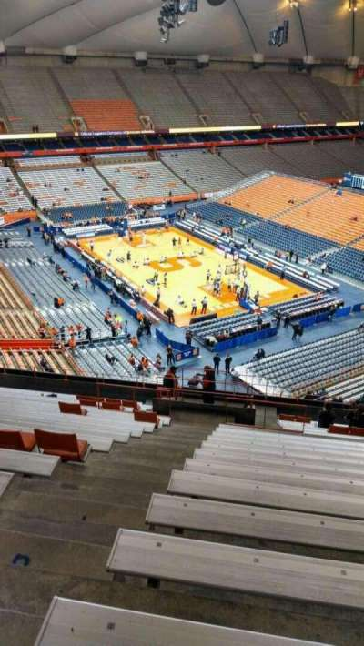 Carrier Dome section 306