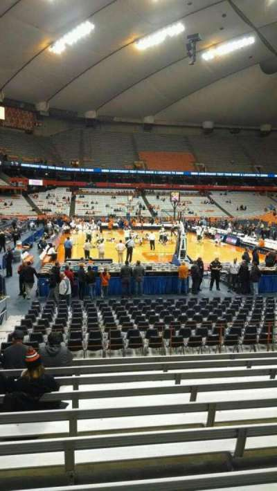 Carrier Dome section 104