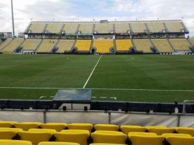 Mapfre Stadium, section: 106, row: 5, seat: 9