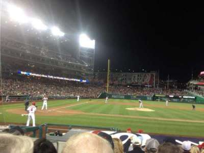 Nationals Park, section: 128, row: K