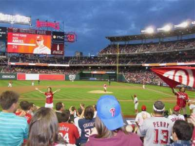 Nationals Park, section: 117, row: P