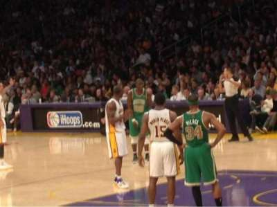 Staples Center section 108